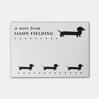 Cute Dachshund Custom Post-it® Notes