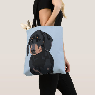 Cute Dachshund | Pet Sausage dog Tote Bag