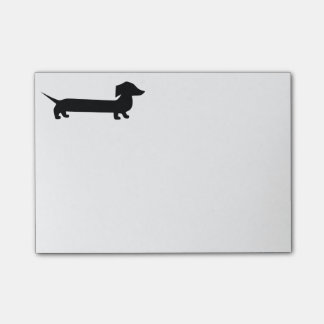 Cute Dachshund Post-it® Notes