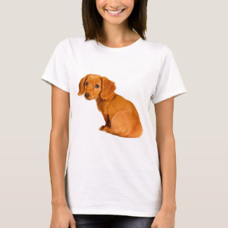 Cute Dachshund Puppy Dog T-Shirt