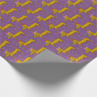 Cute Dachshund Wrapping Paper