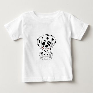 Cute Dalmatian puppy Baby T-Shirt