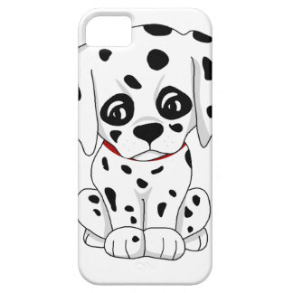 Cute Dalmatian puppy Barely There iPhone 5 Case