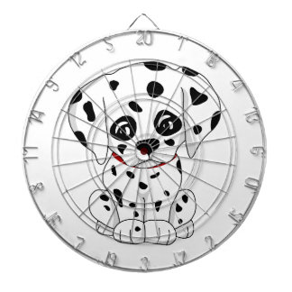 Cute Dalmatian puppy Dartboard