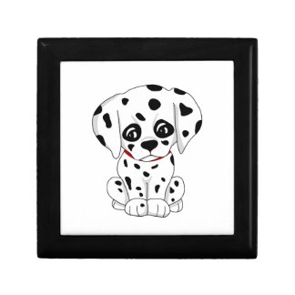 Cute Dalmatian puppy Gift Box
