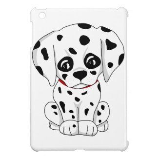 Cute Dalmatian puppy iPad Mini Cover