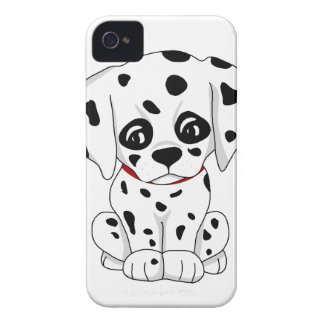 Cute Dalmatian puppy iPhone 4 Case