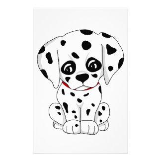 Cute Dalmatian puppy Stationery