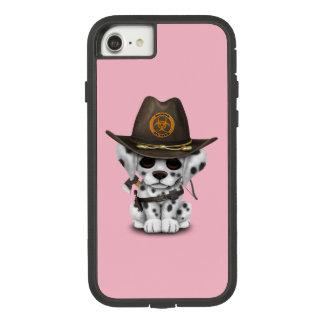 Cute Dalmatian Puppy Zombie Hunter Case-Mate Tough Extreme iPhone 8/7 Case