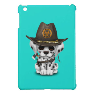 Cute Dalmatian Puppy Zombie Hunter iPad Mini Case