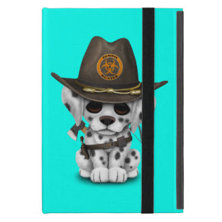 Cute Dalmatian Puppy Zombie Hunter iPad Mini Cover
