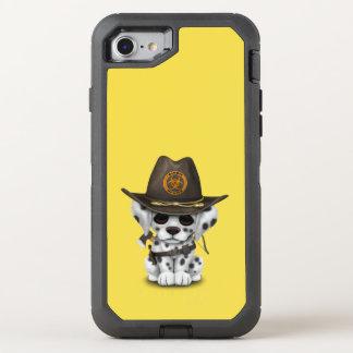 Cute Dalmatian Puppy Zombie Hunter OtterBox Defender iPhone 8/7 Case