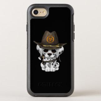 Cute Dalmatian Puppy Zombie Hunter OtterBox Symmetry iPhone 8/7 Case