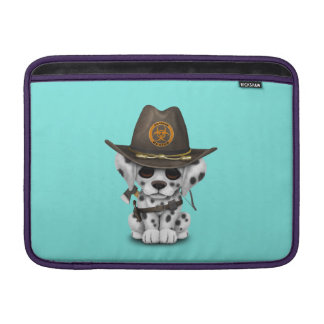 Cute Dalmatian Puppy Zombie Hunter Sleeve For MacBook Air