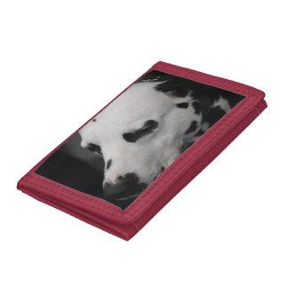 Cute Dalmatian Tri-fold Wallet