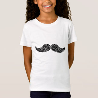 cute damask mustache T-Shirt