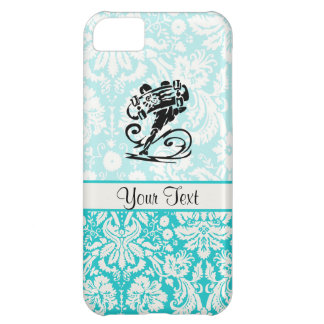 Cute Damask Skateboard iPhone 5C Case