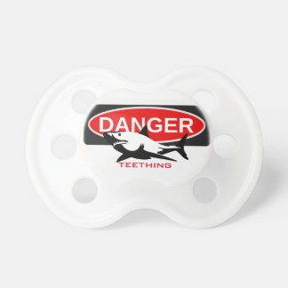 Cute Danger Teething Dummy