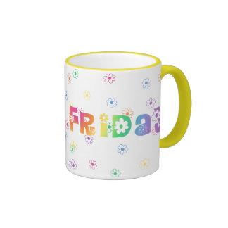 Cute Day Of The Week Friday Mug