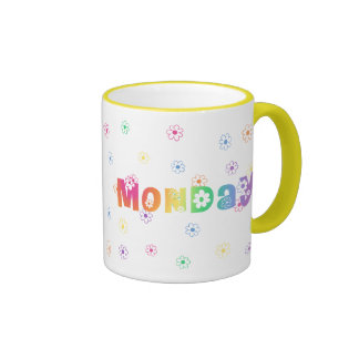 Cute Day Of The Week Monday Mug