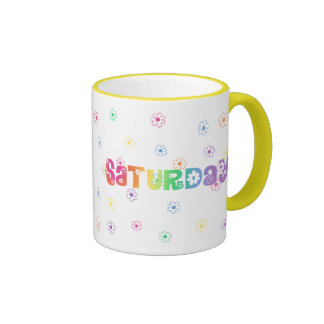 Cute Day Of The Week Saturday Mug