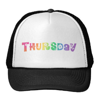 Cute Day Of The Week Thursday Trucker Hat