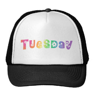 Cute Day Of The Week Tuesday Trucker Hats