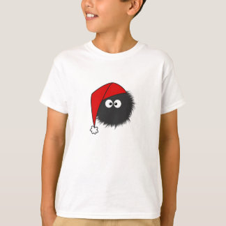 Cute Dazzled Bug Christmas Dark Kids T-Shirt