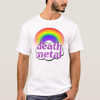 Cute Death Metal Rainbow Shirt
