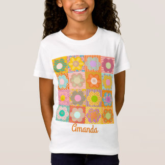 Cute decorated floral T-Shirt