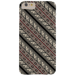 Cute decorative ukrainian patterns design barely there iPhone 6 plus case