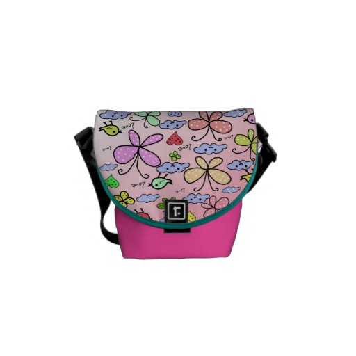 cute design for kids courier bag