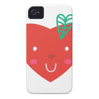 Cute design : Manga heart iPhone 4 Case-Mate Case