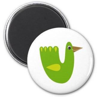 Cute designs with Green bird Magnet