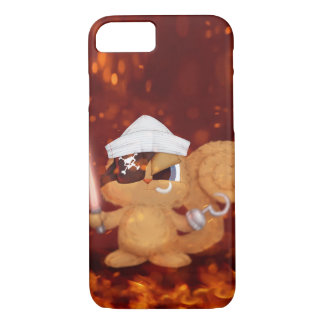 Cute Devil Squirrel iPhone 7 Case