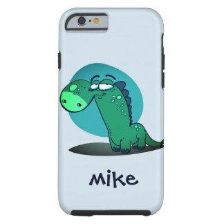 cute dino kid funny cartoon tough iPhone 6 case
