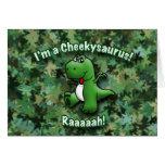 Cute Dinosaur is a Cheekysaurus