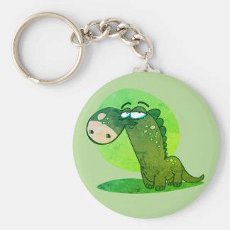 cute dinosaur kid funny cartoon key ring