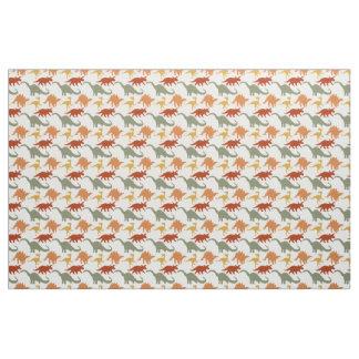 Cute Dinosaur Print Fabric