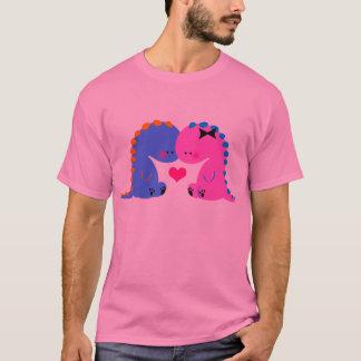 Cute dinosaur shirt // Dinosaurs in love shirt