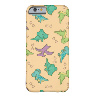 Cute Dinosaurs Barely There iPhone 6 Case