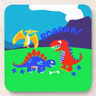 Cute dinosaurs coaster