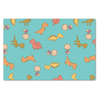 Cute Dinosaurs Tissue Paper