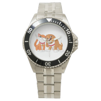 Cute Dog And Cat Watch