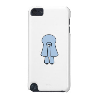 Cute Dog Blue Toy Poodle Miniature Poodle iPod Touch 5G Covers