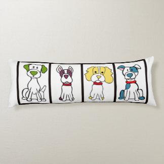 Cute Dog Body Pillow - Original Artwork