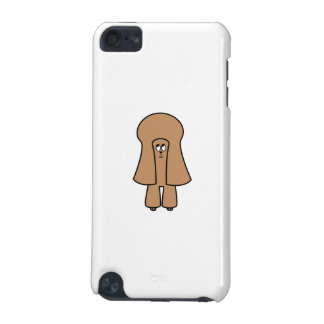 Cute Dog Chocolate Brown Miniature Toy Poodle iPod Touch (5th Generation) Covers