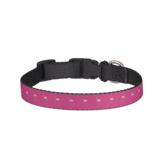 Cute Dog Collar- Pink Flamingo Pet Collar