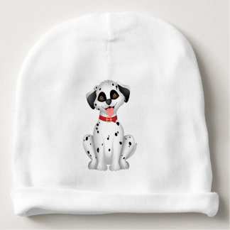 Cute dog Dalmatian Baby Beanie