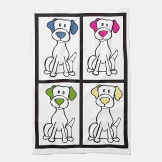 Cute Dog Dishtowel - Labrador Tea Towel